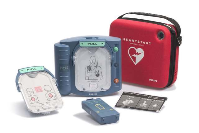 HeartStart OnSite Defibrillator - Now Available Without A Prescription, AED, Defibrillator, Philips accessories, and funding to help pay for it all! Whatever aed choice, make your AED comparison here, and we will help you fund the aed purchase.