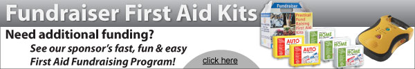 Fundraiser First Aid Kits - Sell 300 & Get an AED FREE for your school